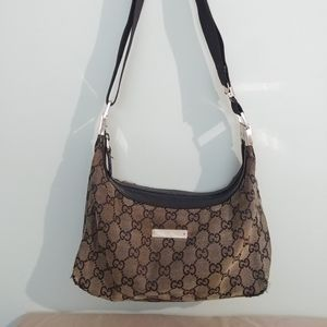 Gucci GG Monogram Canvas Handbag